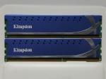 Оперативная память DDR3 4GB(2GB x 2) 1600MHz Kingston HyperX KHX1600C9AD3K2/4G (б/у)