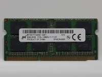 Оперативная память SO-DIMM DDR3L 8Gb 1600MHz Micron (MT16KTF1G64HZ-1G6E1)