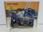 Контроллер PCI to 4 port SATA ,RAID (0, 1, 0+1), чип Silicon Image Si3114, FG-SA3114-4IR-01-CT01, Espada