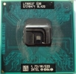 Процессор Intel Celeron M 530 / 1.733 GHz / Socket P (SLA2G)