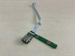 Плата USB/кнопка включения для ноутбука MSI GE600 (MS-1675)